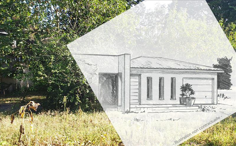 Vente Terrain IZON (33450) - 509 m² -
