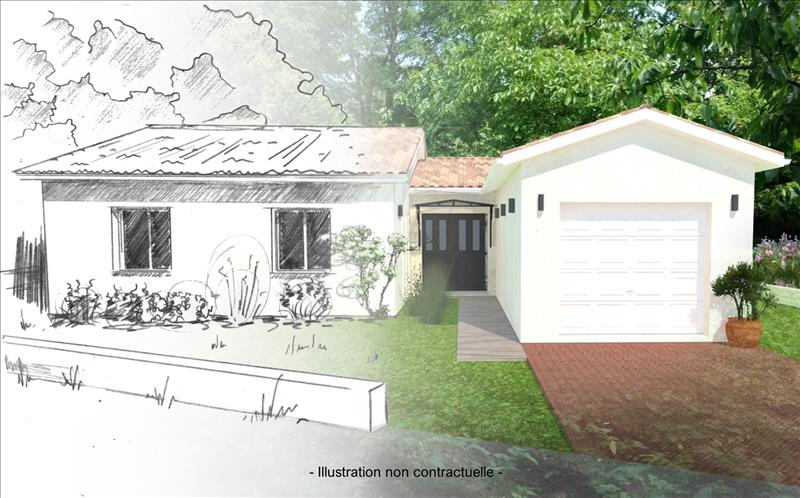 Vente Terrain IZON (33450) - 591 m² -