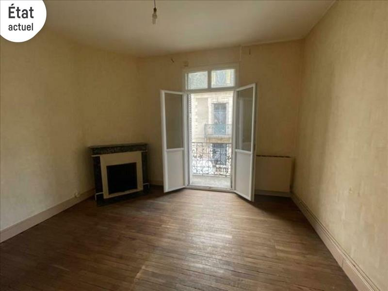 Vente Appartement TOURS (37000) - 2 pièces - 44 m² - Quartier Tours Centre-ville