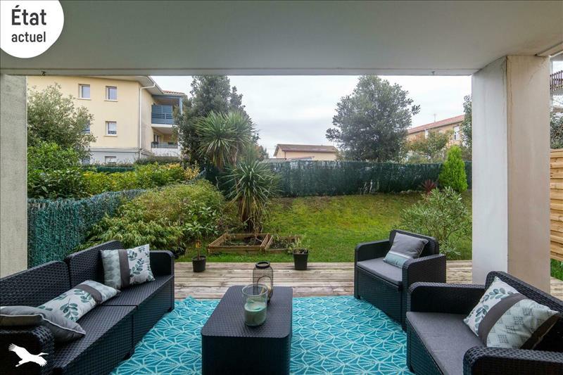 Vente Appartement BOUCAU (64340) - 4 pièces - 69 m² -
