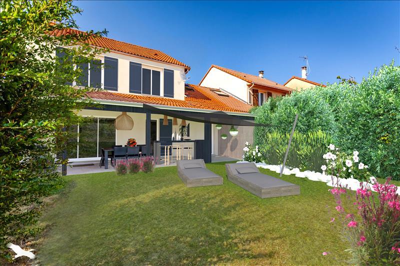 Vente Maison BRON (69500) - 5 pièces - 115 m² -