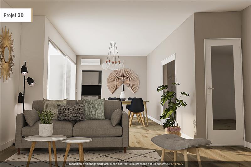 Vente Appartement BRON (69500) - 4 pièces - 78 m² -