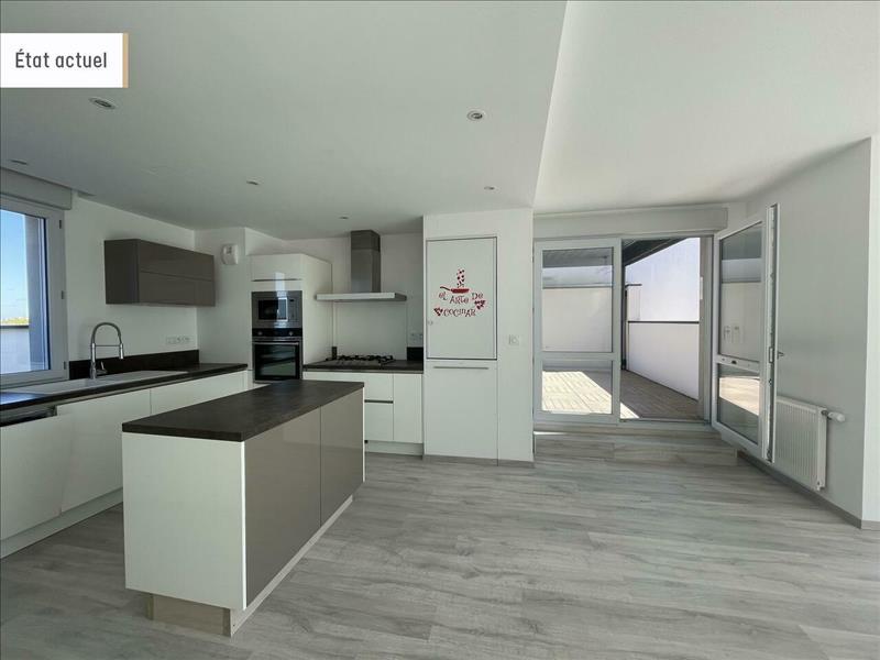 Vente Appartement LA ROCHELLE (17000) - 4 pièces - 89 m² - Quartier La Rochelle|Tasdon - Bongraine