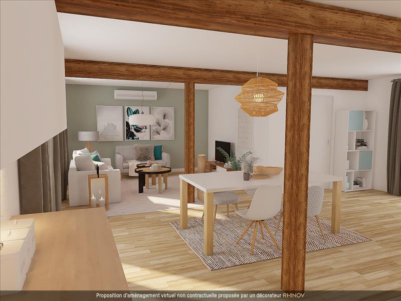 Vente Maison BOURROUILLAN (32370) - 5 pièces - 107 m² -
