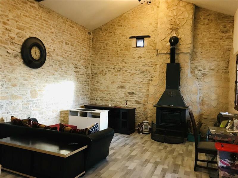 Vente Maison AGRIS (16110) - 6 pièces - 118 m² -