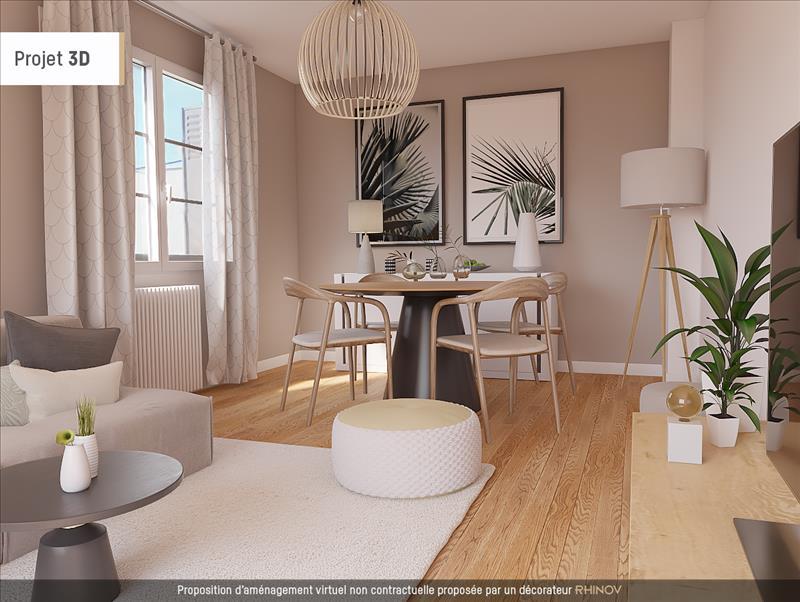 Vente Appartement TOULOUSE (31200) - 3 pièces - 58 m² - Quartier Bonnefoy - La Roseraie - Croix Daurade
