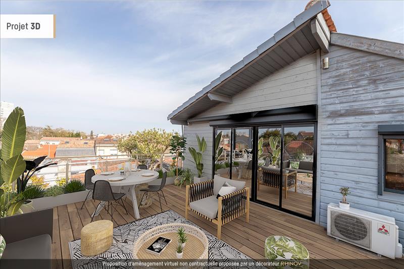 Vente Appartement BEGLES (33130) - 3 pièces - 74 m² - Quartier Bègles Barrière de Bègles