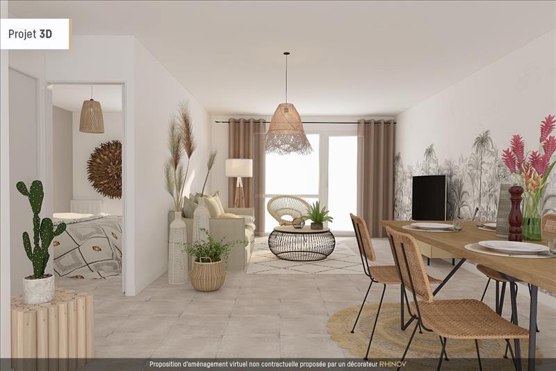 Vente Appartement BEGLES (33130) - 3 pièces - 66 m² - Quartier Bègles Birambits - Mussonville