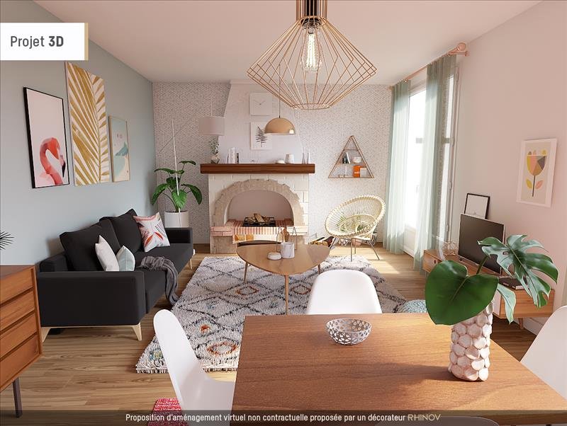 Vente Maison CONFOLENS (16500) - 4 pièces - 150 m² -