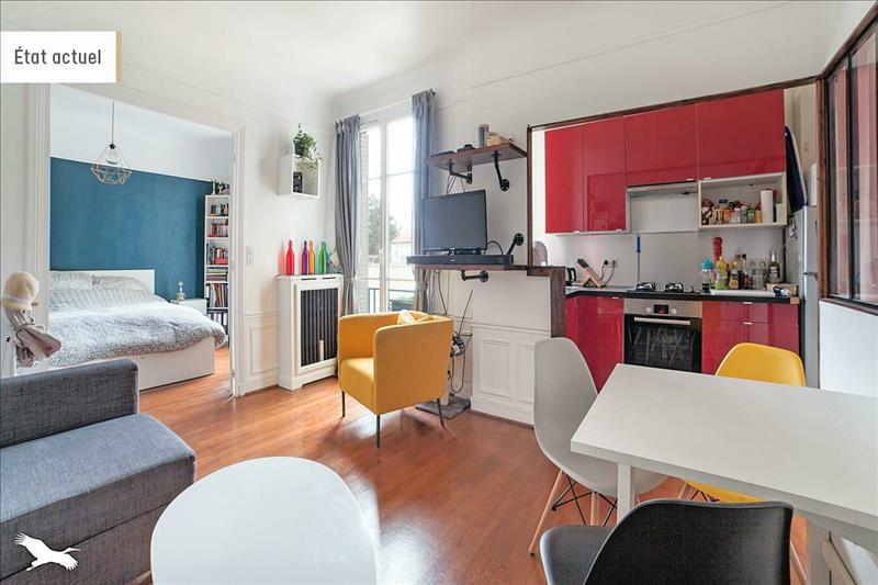 Vente Appartement COLOMBES (92700) - 2 pièces - 43 m² -