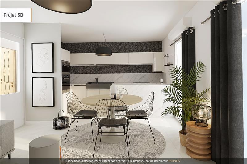 Vente Appartement BAYONNE (64100) - 2 pièces - 46 m² -