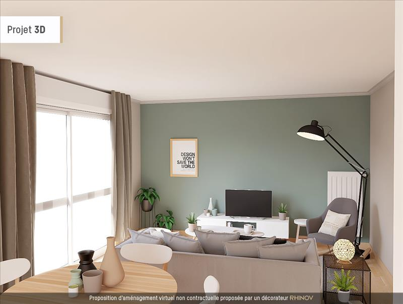 Vente Appartement BREST (29200) - 3 pièces - 90 m² - Quartier Lambézellec
