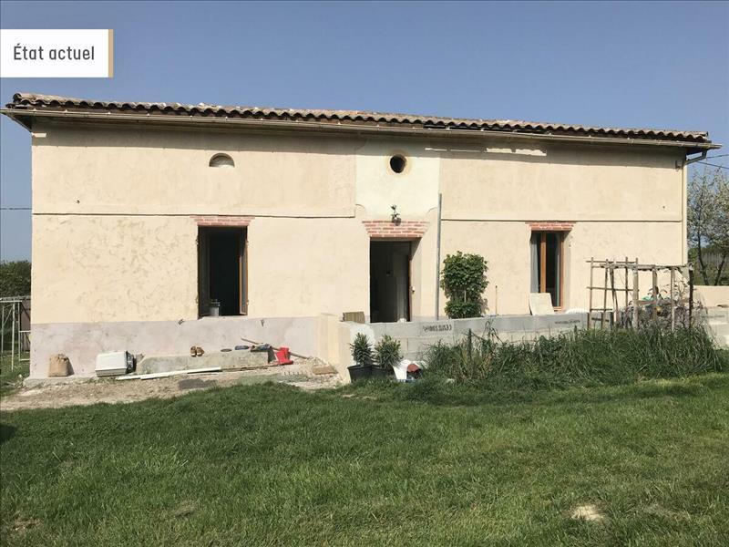Vente Maison BLASIMON (33540) - 4 pièces - 92 m² -