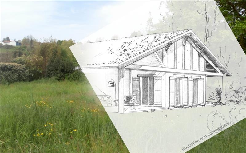 Vente Terrain BIDACHE (64520) - 1170 m² -