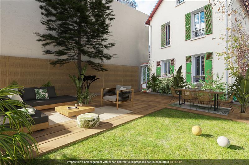 Vente Maison BOIS COLOMBES (92270) - 7 pièces - 150 m² -