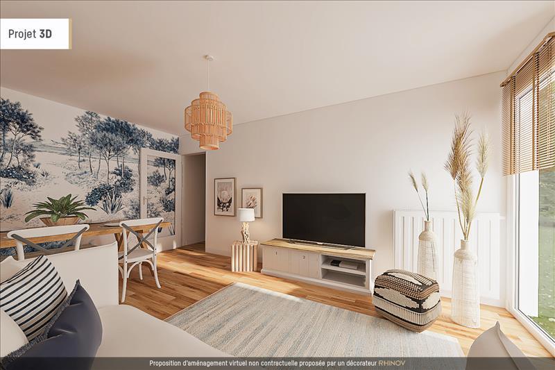 Vente Appartement LA ROCHELLE (17000) - 3 pièces - 84 m² - Quartier La Rochelle |La Genette - Jericho - Fetilly - La Trompette