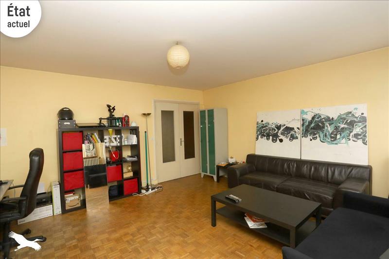 Vente Appartement TOURS (37000) - 3 pièces - 80 m² - Quartier Tours Strasbourg - Febvotte