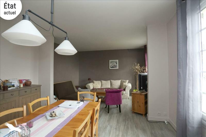 Vente Appartement TOURS (37200) - 2 pièces - 64 m² - Quartier Tours Rives du Cher – Les Fontaines - Montjoyeux