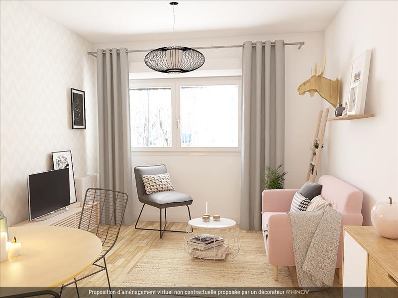 Vente Appartement TOURS (37000) - 3 pièces - 63,9 m² - Quartier Rives du Cher – Les Fontaines - Montjoyeux