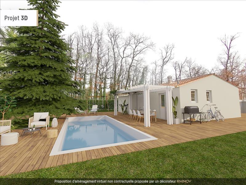 Vente Maison AULNAY (17470) - 3 pièces - 55 m² -