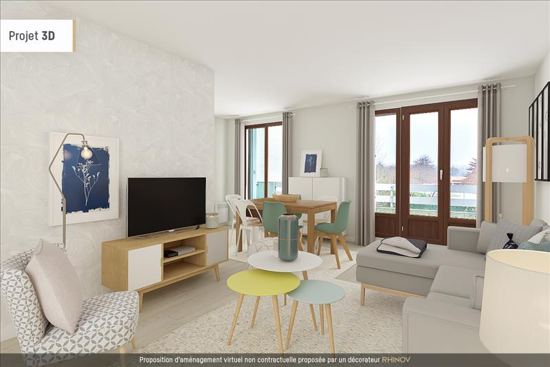 Vente Appartement ANGLET (64600) - 3 pièces - 71 m² -