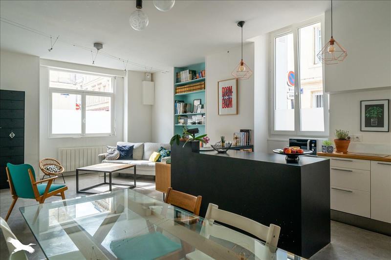 Vente Appartement BORDEAUX (33000) - 3 pièces - 76 m² - Quartier Bordeaux|Chartrons
