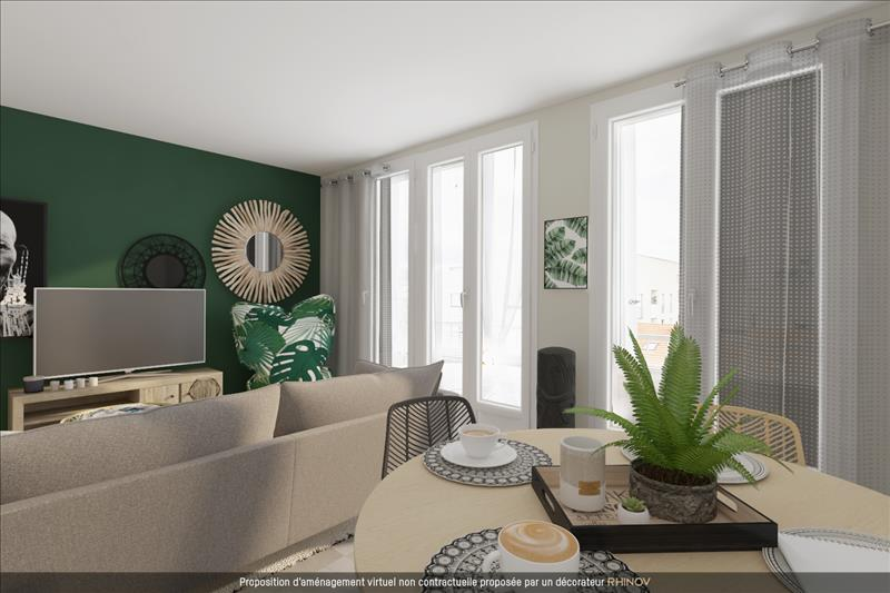 Vente Appartement BORDEAUX (33300) - 4 pièces - 68 m² - Quartier Bordeaux Bassins à flot - Ravezies - Bacalan