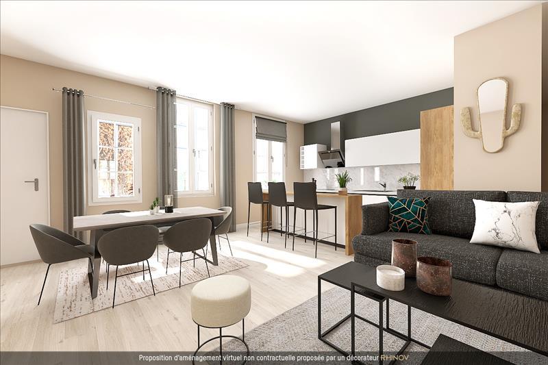 Vente Appartement BORDEAUX (33000) - 3 pièces - 82 m² - Quartier Bordeaux|Chartrons