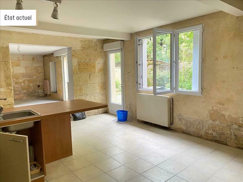Vente Maison BORDEAUX (33300) - 7 pièces - 200 m² - Quartier Bordeaux Chartrons
