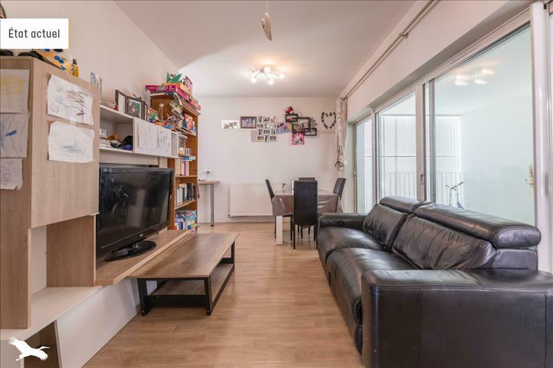 Vente Appartement BEGLES (33130) - 3 pièces - 57 m² - Quartier Bègles Terres Neuves