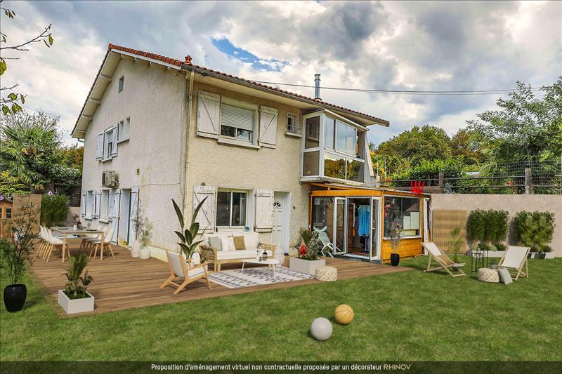 Vente Maison ARTIGUELOUVE (64230) - 8 pièces - 155 m² -