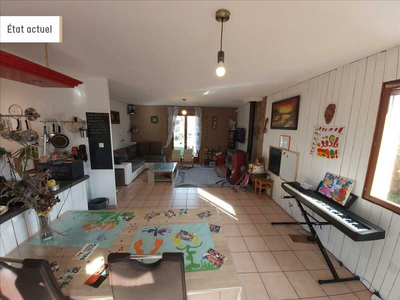 Vente Maison AIGUES VIVES (09600) - 5 pièces - 115 m² -
