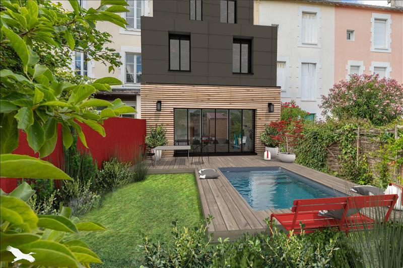 Vente Maison BORDEAUX (33000) - 8 pièces - 155 m² - Quartier Bordeaux|Jardin Public - St Seurin - Croix Blanche