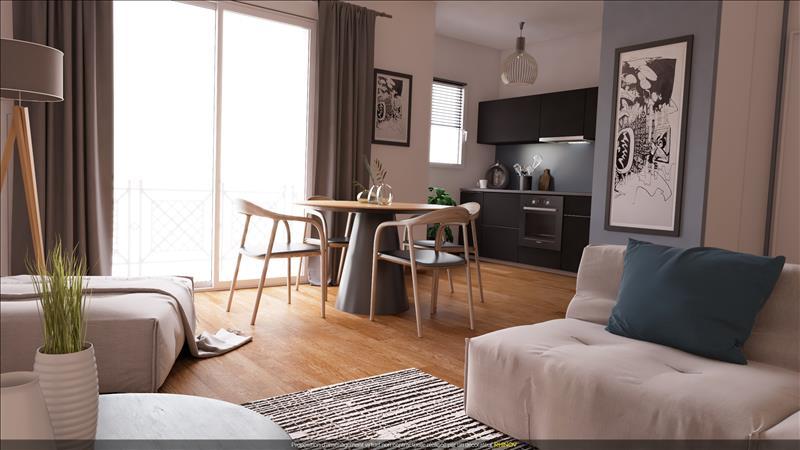 Vente Appartement TOURNEFEUILLE (31170) - 2 pièces - 45 m² -