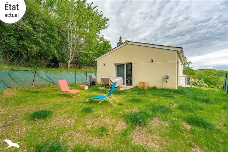 Vente Maison ARVEYRES (33500) - 3 pièces - 71 m² -