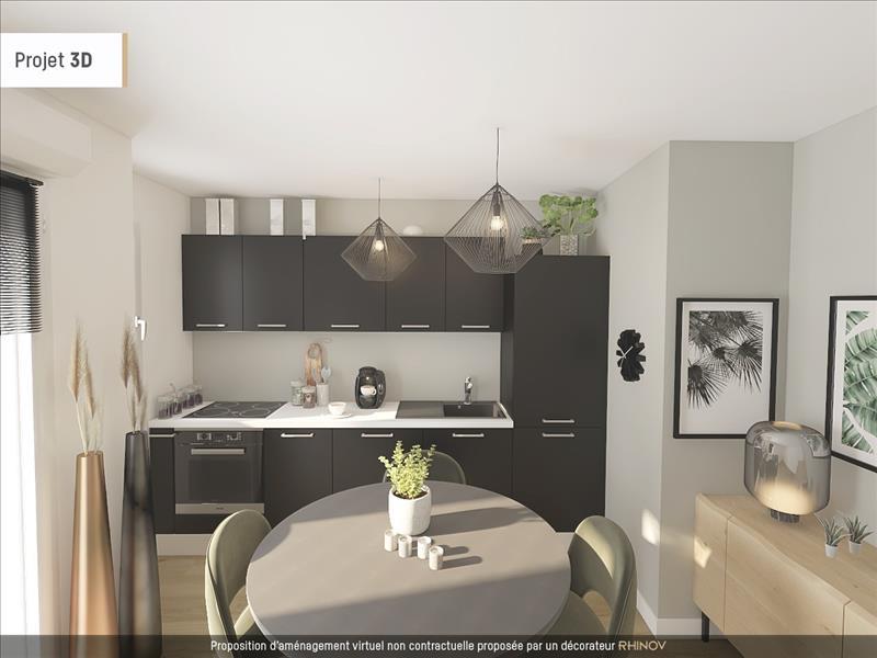 Vente Appartement COLOMBES (92700) - 2 pièces - 46 m² -