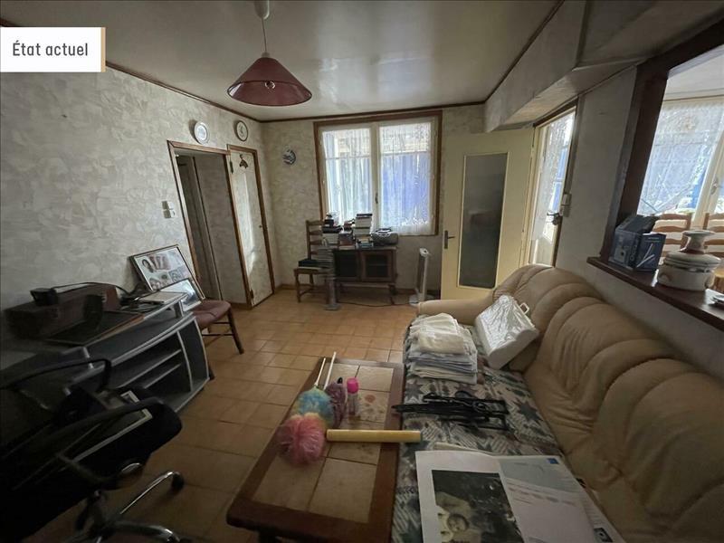 Vente Maison CABARIOT (17430) - 6 pièces - 113 m² -