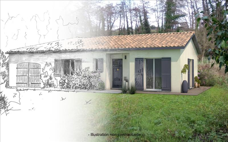 Vente Terrain BOMMES (33210) - 1755 m² -