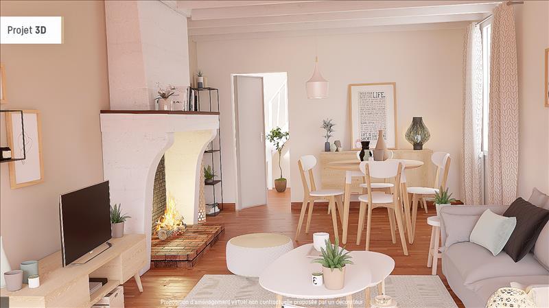 Vente Maison ST MARTIN DE SESCAS (33490) - 7 pièces - 106 m² -