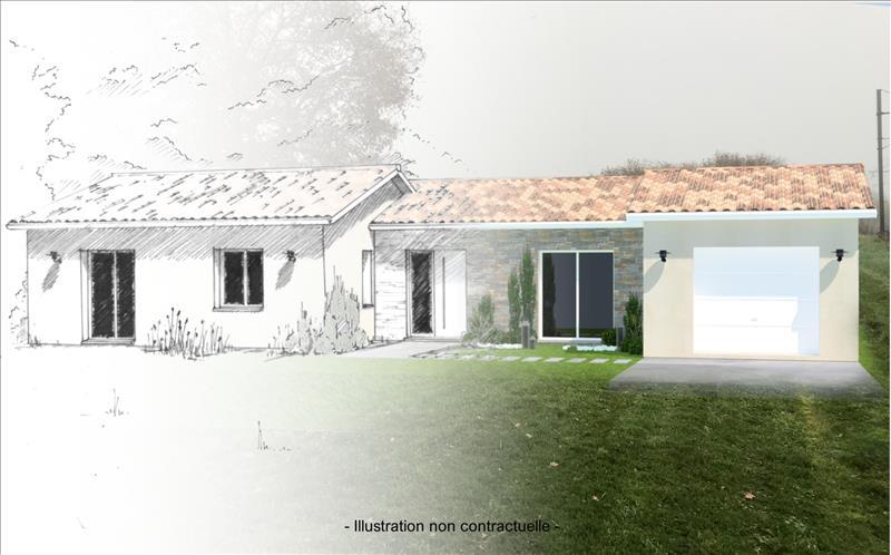 Vente Terrain ST PIERRE D AURILLAC (33490) - 1150 m² -