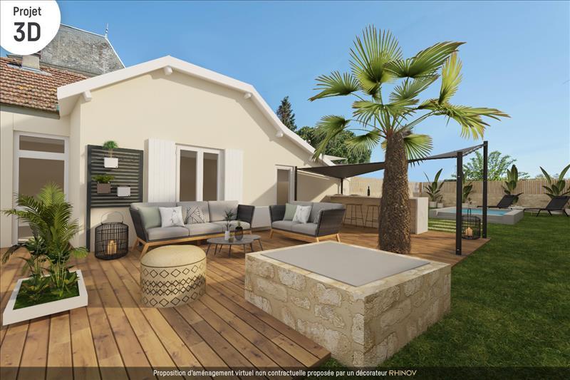 Vente Maison BOMMES (33210) - 4 pièces - 90 m² -
