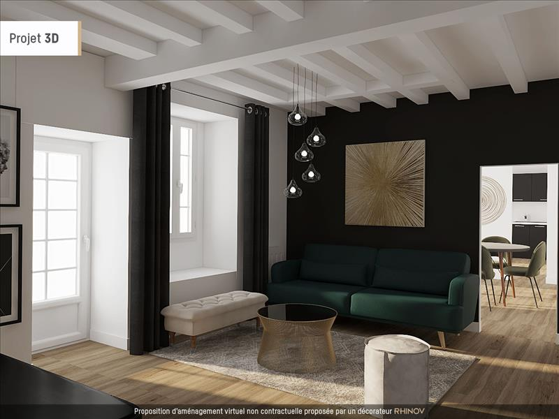 Vente Immeuble BOURG DU BOST (24600) - 215 m² -