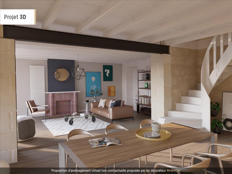 Vente Maison ST MARTIN LACAUSSADE (33390) - 5 pièces - 195 m² -