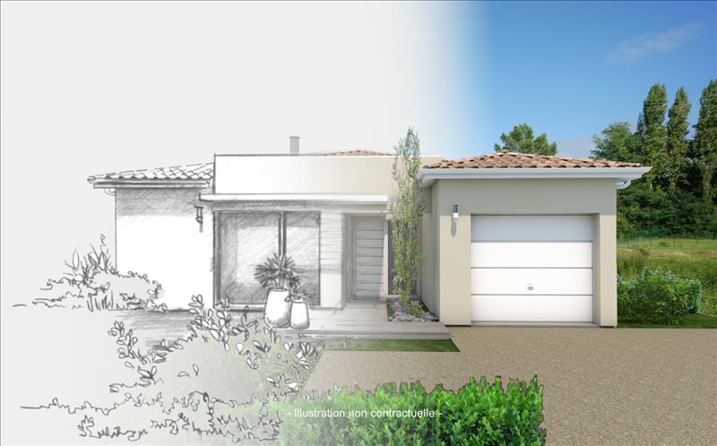 Vente Terrain EYRANS (33390) - 640 m² -