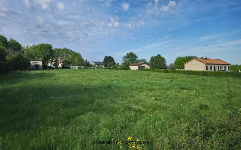 Vente Terrain ST MARTIN LACAUSSADE (33390) - 2541 m² -