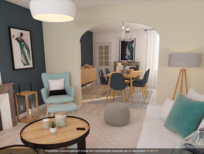 Vente Maison BERSON (33390) - 6 pièces - 173 m² -