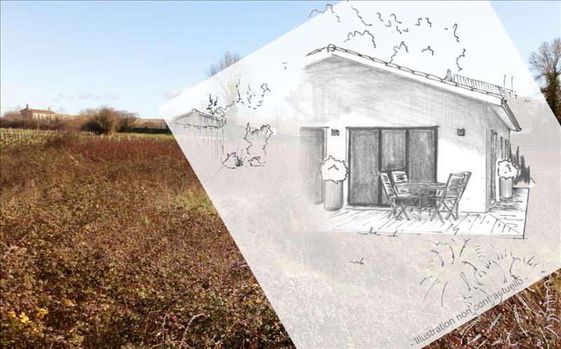 Vente Terrain BLAYE (33390) - 620 m² -