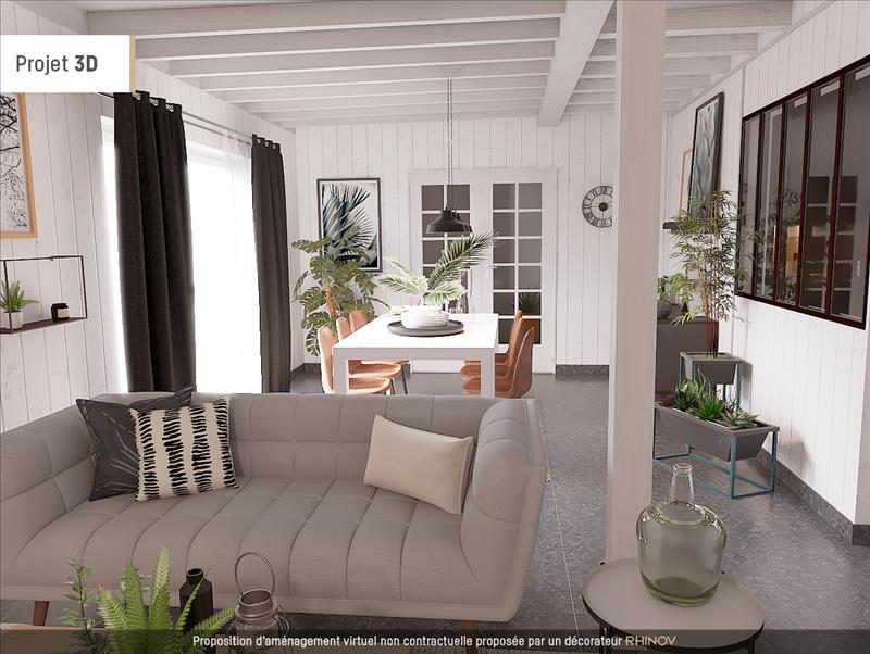 Vente Maison ST HILAIRE DE LA NOAILLE (33190) - 6 pièces - 105 m² -