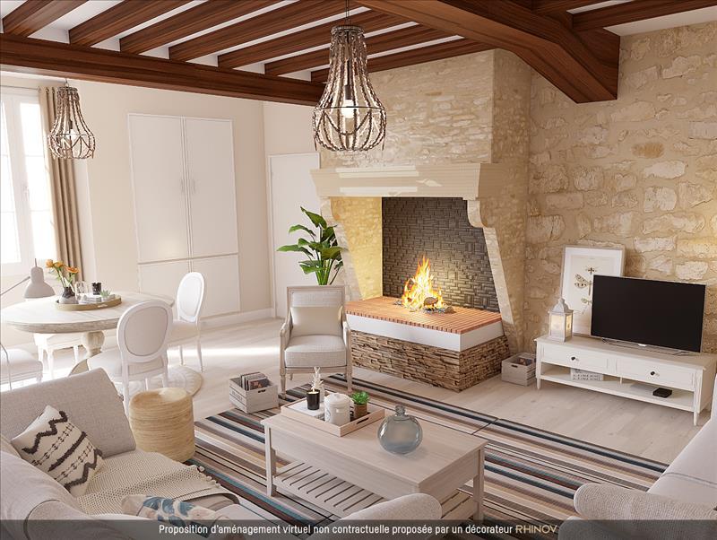 Vente Maison BOURDELLES (33190) - 5 pièces - 200 m² -