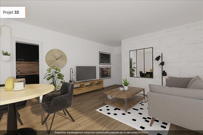 Vente Appartement BRUGES (33520) - 3 pièces - 54 m² -